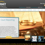 Web Design Portfolio: Summit Reporting