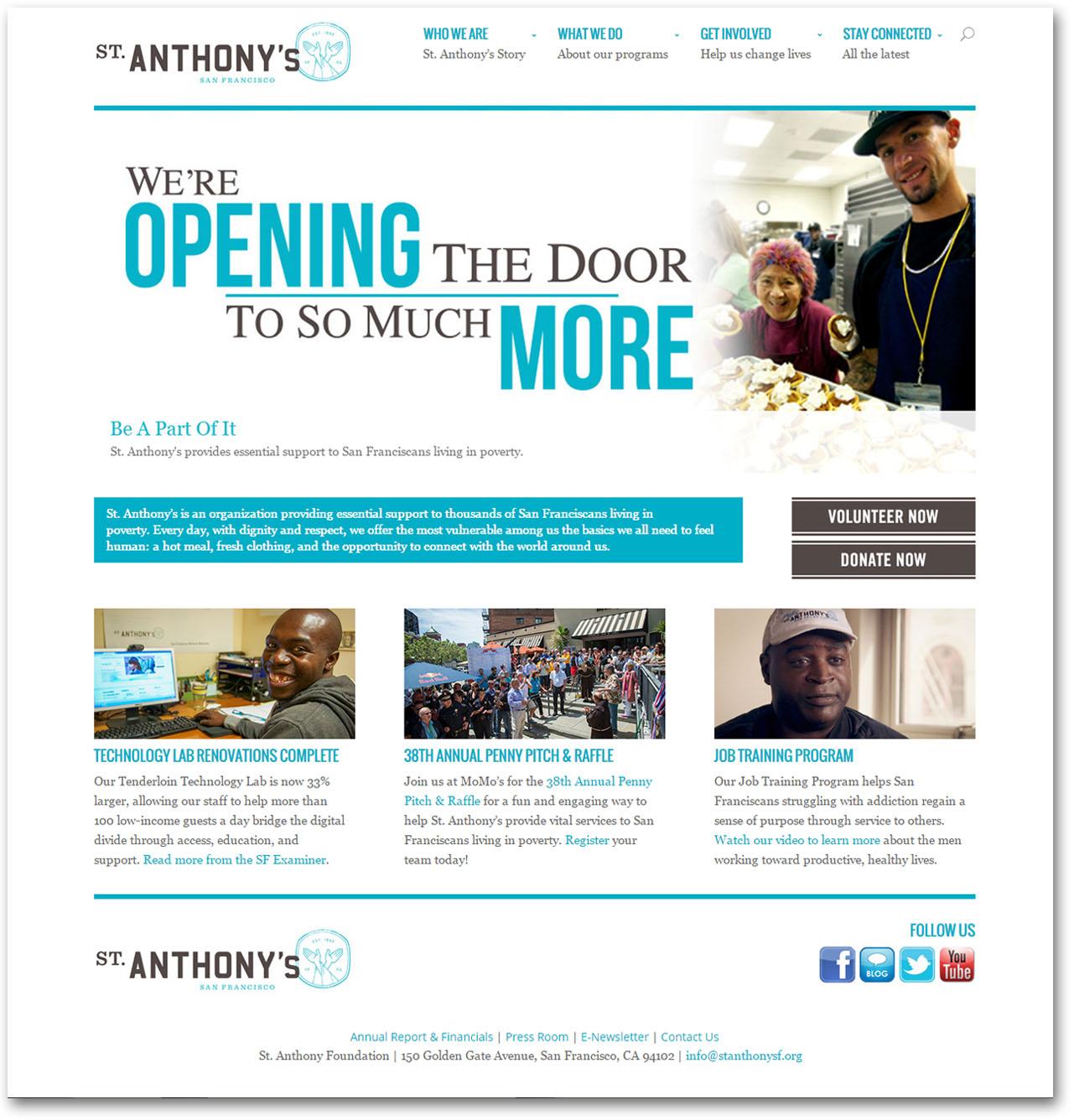 Portfolio: St. Anthony's