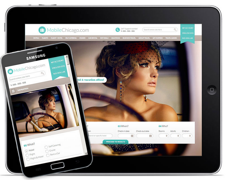 Responsive Design to Reach Viewers on Smart Phones and Tablets