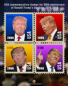 President Trump Commemorative Stamps